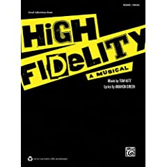 High Fidelity a Musical: Piano/Vocal