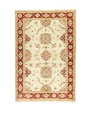 L'Eden del Tappeto Teppich Zeigler beige/rot 175t x t118 cm