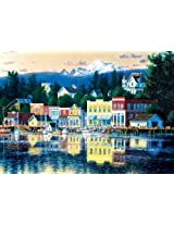 Buffalo Games Shorelines, Lakeside Afternoon 500pc Jigsaw Puzzle By Buffalo Games
