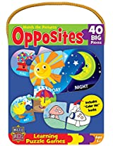 MasterPieces / Mini Learning Games Opposites 40-Piece Matching Puzzle