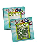 Scratch Off Bingo Game Cards for Party Favors Promotional & Fundraising Use- 25 Cards