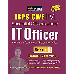 IBPS-CWE Specialist Officer Cadre IT OFFICER Scale I&II Recruitment Exam (Old Edition)