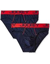Jockey Men's Cotton Brief  (Pack of 2)