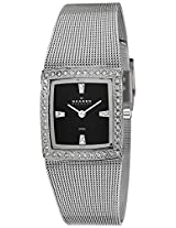 Skagen Analog Black Dial Women's Watches's Watch - 608SSSB