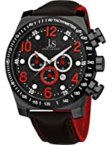 Joshua & Sons Men's JS714RD Chronograph Stainless Steel Sports Watch