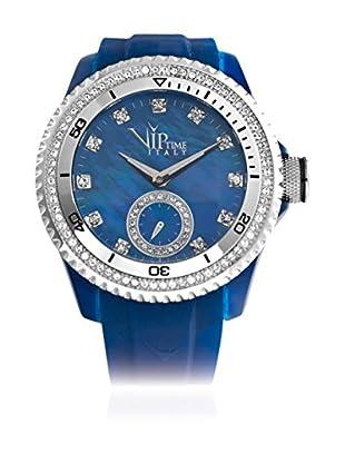 Vip Time Italy Uhr mit Japanischem Quarzuhrwerk VP8021BL_BL blau 43.00  mm