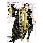 Om Shree Ganesh Ladies 100% Cotton Dress Material 408