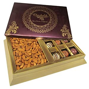 Best combination with almonds & truffle - Chocholik Premium Gifts