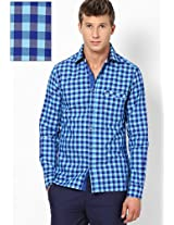 Aqua Blue Casual Shirt