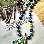 Aavarana terracotta necklace
