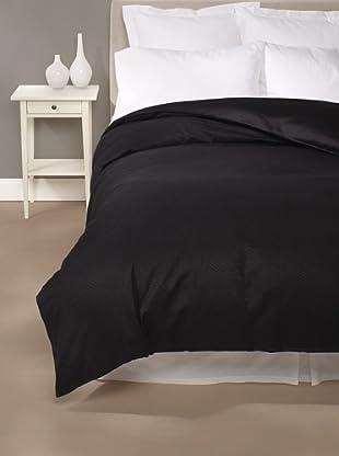 Edmond Frette Tiberio Jacquard Duvet Cover (Black)