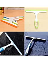 Glass Window Wiper Soap Cleaner Squeegee Home Shower Bathroom Mirror Car Blade