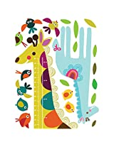 Wallies Room Décor Sticker Giraffe Growth Chart