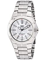 Q&Q Regular Analog Silver Dial Men's Watch - Q962J201Y