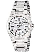 Q&Q Regular Analog Silver Dial Men's Watch - Q962J201Y