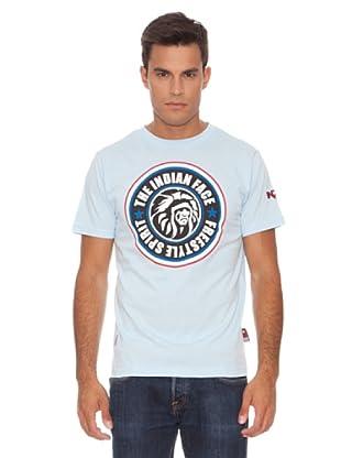 The Indian Face Camiseta Clásica (Azul)