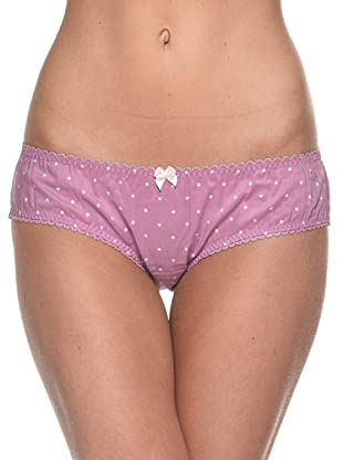 SiSi Intimate Culotte Pois (Ciclamino)