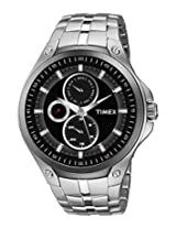 Timex E Class Multi Function Black Dial Men's Watch - TI000U10100