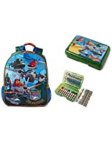 Disney Planes Fire and Rescue Full Sized School Backpack and Pencil Case