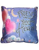 Twisha Friends With Heart Pillow 12 X 12 X 4 Inch