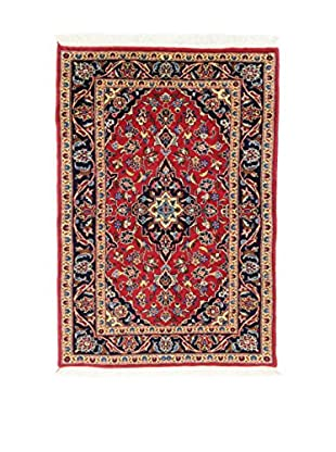 L'Eden del Tappeto Teppich M.Kashan rot/mehrfarbig 140t x t98 cm