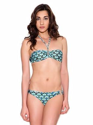 Pedro Del Hierro Bikini Estampado (Turquesa)