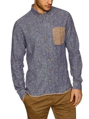 NUNC Camisa Casamicciola (Azul Oscuro)