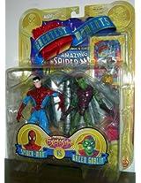 Previews Exclusive Spider-Man Vs. Green Goblin Action Figures