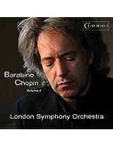 Barabino Chopin Vol. 4 [Adolfo Barabino; London Symphony Orchestra ,Lee Reynolds ] [CLAUDIO RECORDS: CR6021-6]