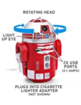 Star Wars R2-D9 Red Droid Robot Figure Tablet Phone Electronic USB Car Charger