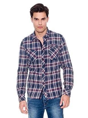 Pepe Jeans London Camisa Rumble (Azul Marino)