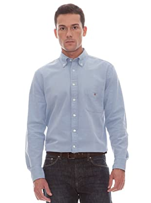 Gant Camisa Lisa (marino)