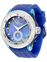 Vip Time Italy Women's VP8021BL Charme Lady Sporty Chronograph Watch