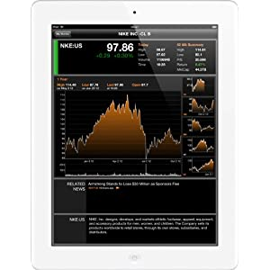 Apple iPad with Retina Display (9.7 inch,16GB, WiFi, 4th gen), White