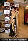 Bollywood Mandira Bedi Black and Golden Half and Half Designer Saree
