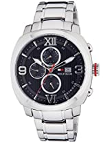 Tommy Hilfiger Analog Black Dial Men's Watch - TH1790981J