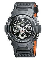 Casio G-Shock Analog-Digital Black Dial Men's Watch - AW-591MS-1ADR  (G225)