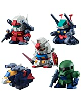 Bandai Hobby Candy Volume 3 Build Model Gundam Figure (Box of 10)