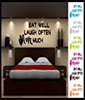 Decals - myRitzy Quote at Bed Room Wall Decal