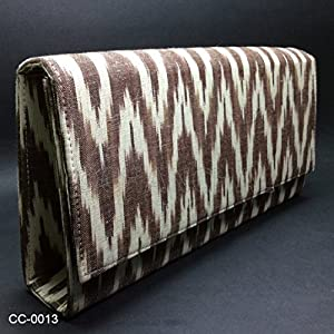Chanchal Handloom Pochampally Ikat Clutch