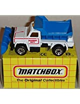 MATCHBOX MB45 WHITE AND BLUE 1:83 SCALE MAINTENANCE TRUCK BOXED EDITION DIE-CAST