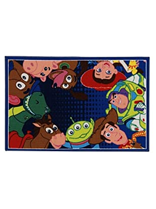 ABC Alfombra Disney Toy Story (Multicolor)