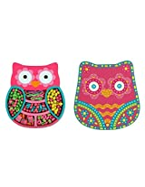 Stephen Joseph Owl Bead Boutique Jewelry Kit And Keepsake Box For Girls