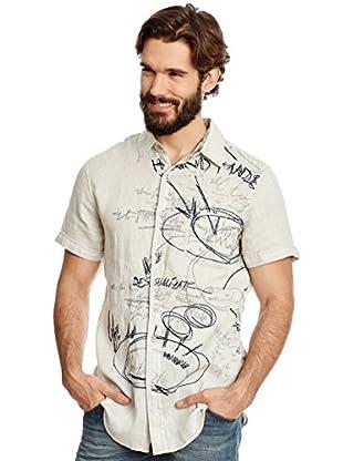 Desigual Camisa Hombre Homer Rep
