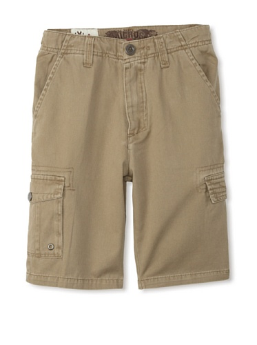 Micros Boy's Samsara Cargo Shorts (Dark Khaki)