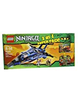 Lego Ninjago 66444 Masters of Spinjitzu 3 in 1 Super Pack contains 9442, 9441 and 9591