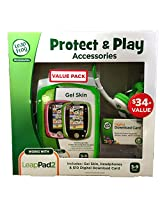 LeapFrog Green Protect & Play Accessories Value Pack for LeapPad2