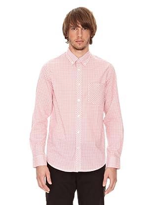 Ben Shermann Camisa Cuadros Kerri (Rosa / Blanco)