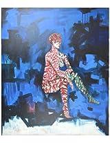 Liflad Artmart Acrylic and Canvas Painting (76 cm x 76 cm, LA27)
