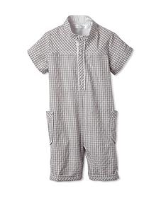 TroiZenfantS Baby Romper (Grey)